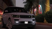 Land-Rover Range Rover Supercharged Series IV  2014 для GTA San Andreas миниатюра 16
