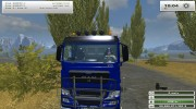 MAN TGX HKL with container v 5.0 Rost for Farming Simulator 2013 miniature 10
