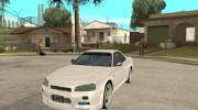 Nissan Skyline R34 VeilSide for GTA San Andreas miniature 1