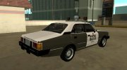 Chevrolet Opala da Policia Militar do estado do Rio Grande do Sul for GTA San Andreas miniature 3