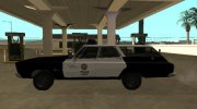 Plymouth Belvedere SW 1965 LAPD for GTA San Andreas miniature 5