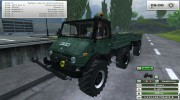 Unimog U 84 406 Series и Trailer v 1.1 Forest for Farming Simulator 2013 miniature 1