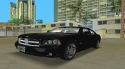 Dodge Charger R/T FBI for GTA Vice City miniature 1