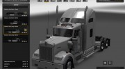 Kenworth W900 for Euro Truck Simulator 2 miniature 3
