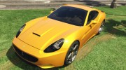 2012 Ferrari California BETA for GTA 5 miniature 2