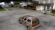 FBI Truck from Fast Five для GTA San Andreas миниатюра 3