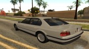 BMW 7-Series 750iL e38 1995 1.1 for GTA San Andreas miniature 2