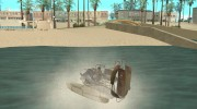 HL2 Airboat for GTA San Andreas miniature 2
