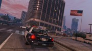 1999 Ford Crown Victoria LAPD for GTA 5 miniature 3