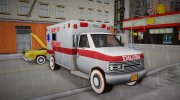 New Texture Ambulance 1962 for GTA 3 miniature 2