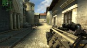 Fn Scar Acog M203 for AUG for Counter-Strike Source miniature 3