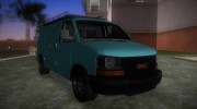 GMC Savanna for GTA Vice City miniature 2
