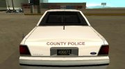 Ford LTD Crown Victoria 1991 New Castle County Police for GTA San Andreas miniature 7