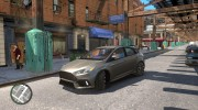 Ford Focus RS для GTA 4 миниатюра 3