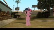 Twilight Sparkle (My Little Pony) для GTA San Andreas миниатюра 3