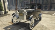 Ford T 1927 Tin Lizzie for GTA 5 miniature 5