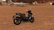 Yamaha Exciter 150cc Camo Edition for GTA San Andreas miniature 5