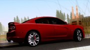Dodge Charger SRT8 2012 Stock Version для GTA San Andreas миниатюра 2