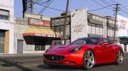 2012 Ferrari California BETA for GTA 5 miniature 4