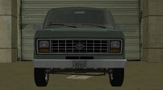 Ford E-150 (Short Version) 1983 Commercial Van for GTA Vice City miniature 5