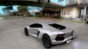 Lamborghini Aventador LP700-4 for GTA San Andreas miniature 3