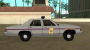 Ford LTD Crown Victoria 1991 Mississippi State Trooper for GTA San Andreas miniature 6