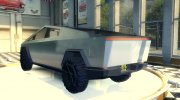 Tesla Cybertruck for Mafia II miniature 3