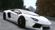 Lamborghini Aventador LP700-4 2012 v2.0 for GTA 4 miniature 1