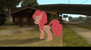 Pinkie Pie (My Little Pony) для GTA San Andreas миниатюра 4
