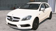 Mercedes-Benz A 45 AMG (W176) 2013 for BeamNG.Drive miniature 1