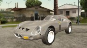 Ferrari 250 GTO 1962 for GTA San Andreas miniature 2