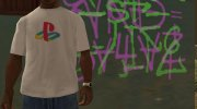 PlayStation T-Shirt for GTA San Andreas miniature 2