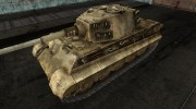 Шкурка для PzKpfw VIB Tiger II для World Of Tanks миниатюра 1