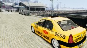 Dacia Logan Prestige Taxi for GTA 4 miniature 3