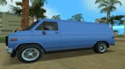 GMC Vandura G-15 1983 v1.1 for GTA Vice City miniature 8