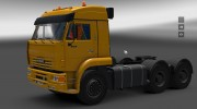 КамАЗ 6460 for Euro Truck Simulator 2 miniature 6
