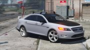Ford Taurus SHO 2010 for GTA 5 miniature 7