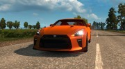 Nissan GT-R for Euro Truck Simulator 2 miniature 2