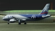 Airbus A320-200 LAN Airlines - 80 Years Anniversary (CC-CQN) for GTA San Andreas miniature 23