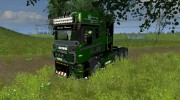 Scania R560 Templer Edition Green Turm for Farming Simulator 2013 miniature 1
