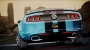 Ford Mustang Shelby GT500 2013 v1.0 for GTA San Andreas miniature 9