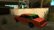 Tahoma Restylе for GTA San Andreas miniature 8