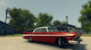 Plymouth Belvedere Sport Sedan 1957 for Mafia II miniature 2