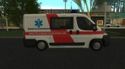 Fiat Ducato Lithuanian Ambulance for GTA San Andreas miniature 4