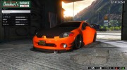 Mitsubishi Eclipse 2006 for GTA 5 miniature 7