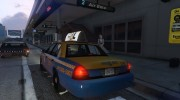 1999 Ford Crown Victoria Taxi for GTA 5 miniature 3