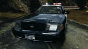 Ford Crown Victoria Police Interceptor 2003 Liberty City Police Department [ELS] для GTA 4 миниатюра 6