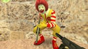 Ronald McDonald for Counter Strike 1.6 miniature 1