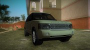 Land Rover Range Rover 2010 for GTA Vice City miniature 2