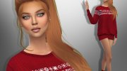 Hannah Vitale for Sims 4 miniature 1